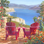 Okanagan Art - scenic landscapes depicting the best of Okanagan vineyards, lakes, and architecture.